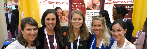 CSM Booth section on women's health