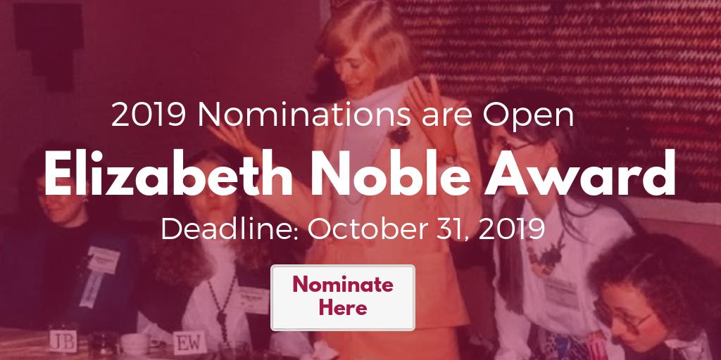 Elizabeth Noble Award